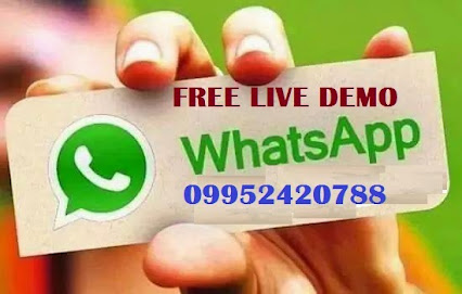 Free Live Demo Whats App