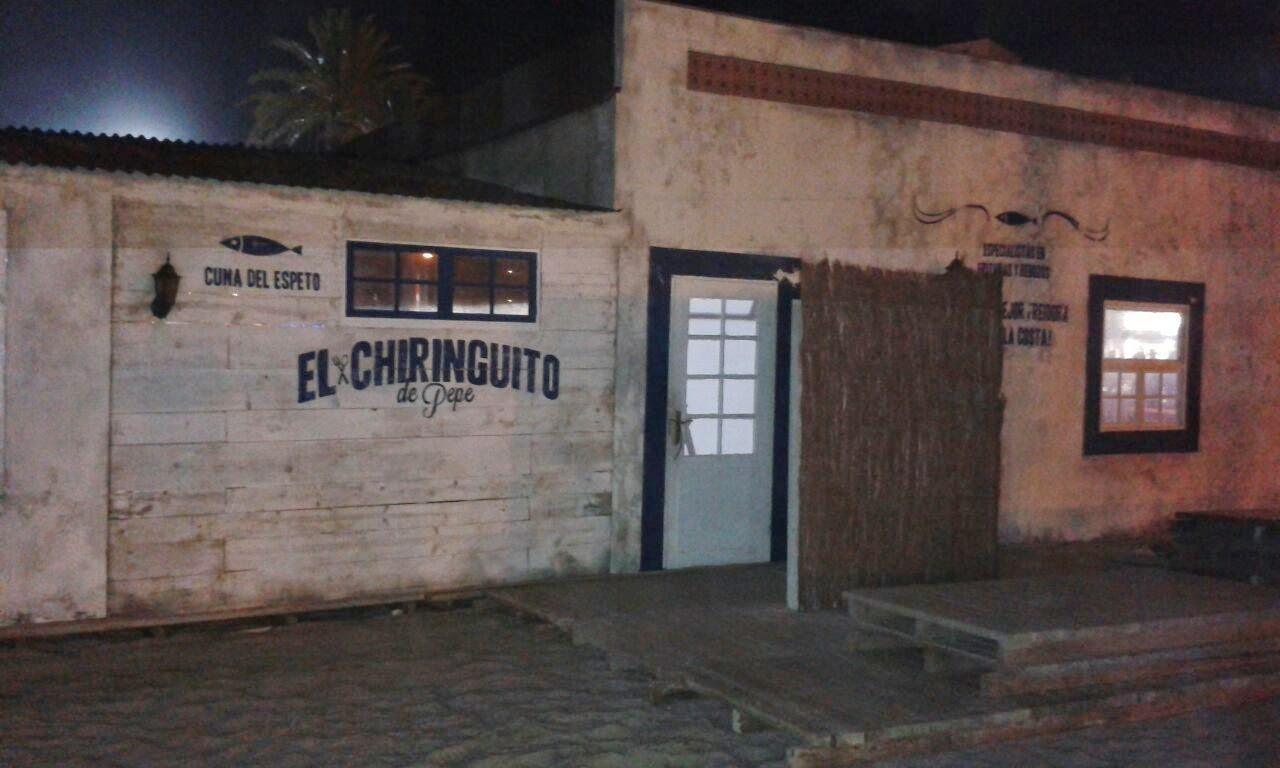 Decorado de El Chiringuito de Pepe
