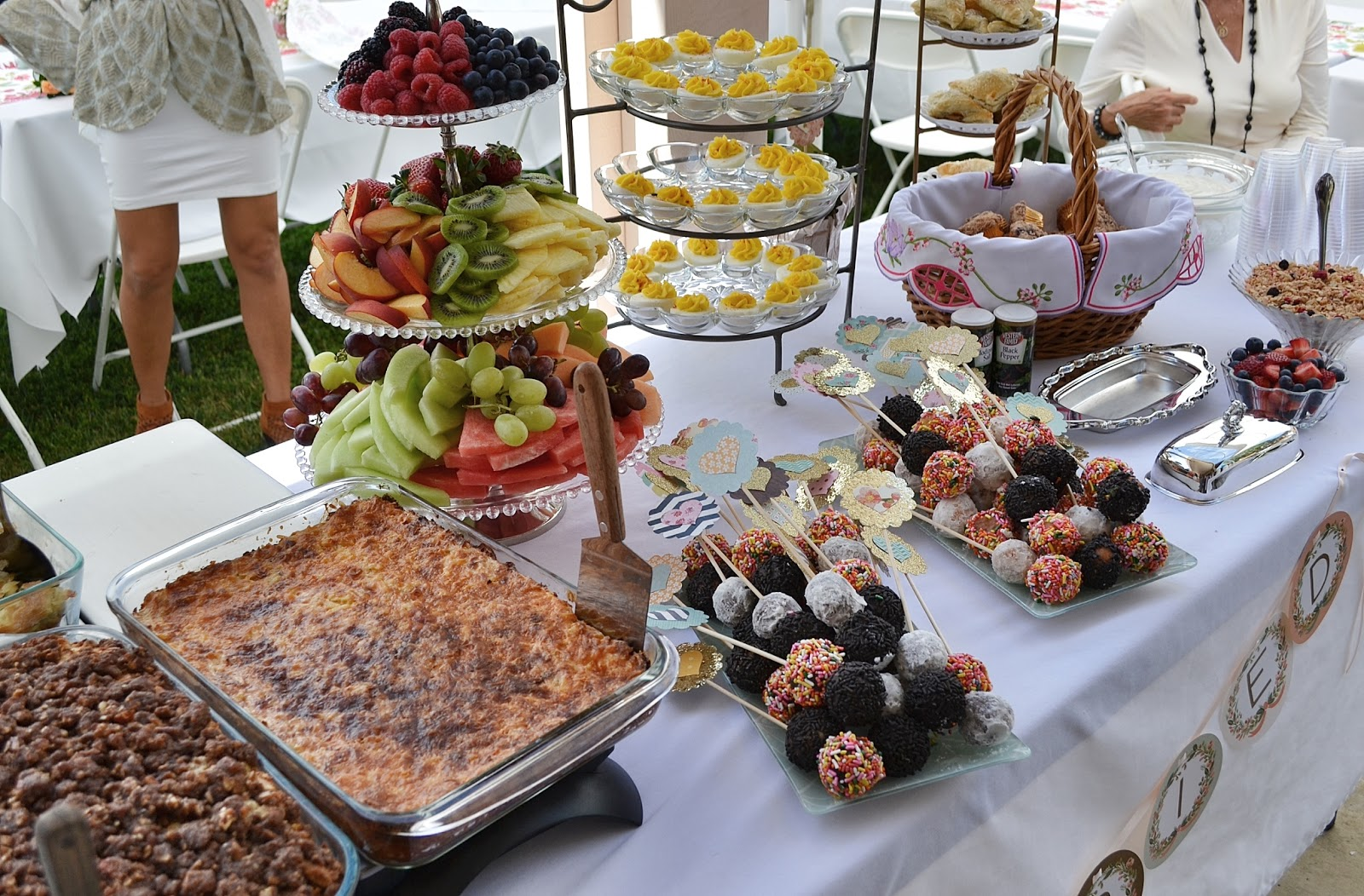 engagement party champagne brunch