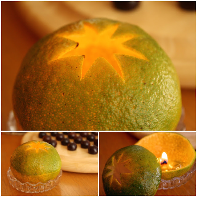 How to Make a Candle Out of a Tangerine, Clementine or Satsuma