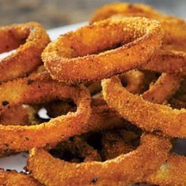 http://www.eatingwell.com/recipes/oven_baked_onion_rings.html