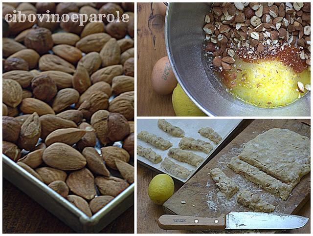 preparazione Ossa dei morti ,biscotti