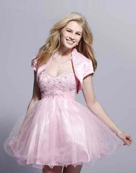 short pink plus size juniors dresses