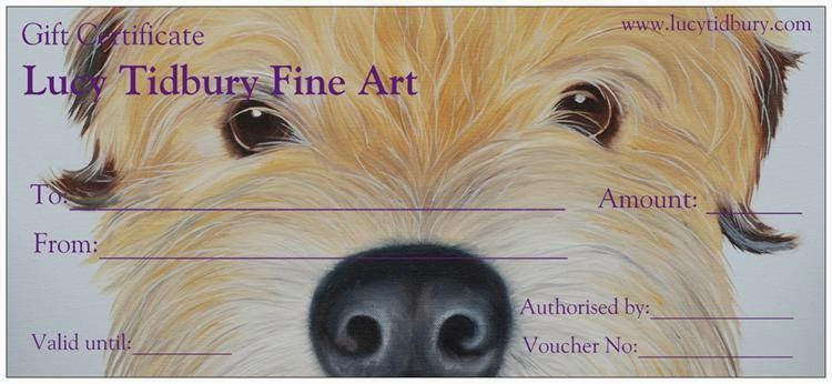 Lucys Pet Portraits Gift Voucher