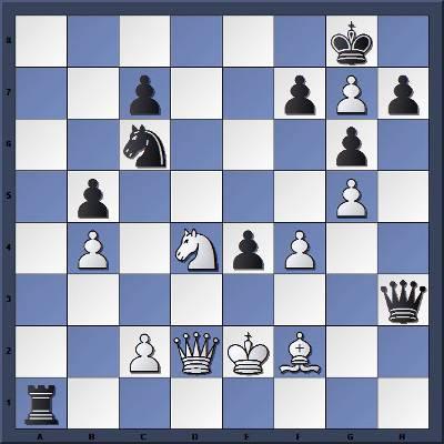 Les Blancs jouent et matent en 3 coups