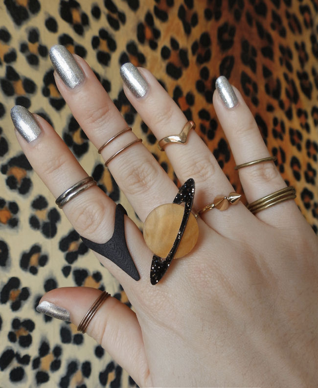 Cosmic Ring Stacking with Sugar & Vice! | The Style Rawr