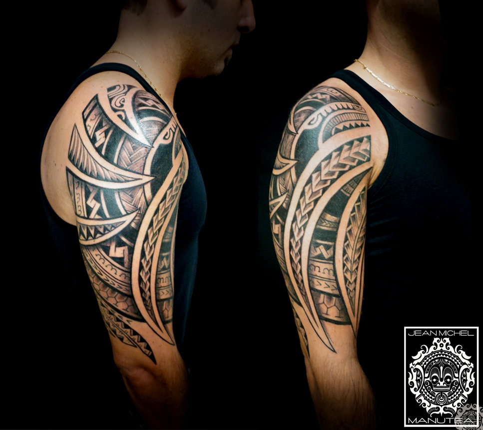 tatouage polynesien polynesian tattoo april 2016. Black Bedroom Furniture Sets. Home Design Ideas