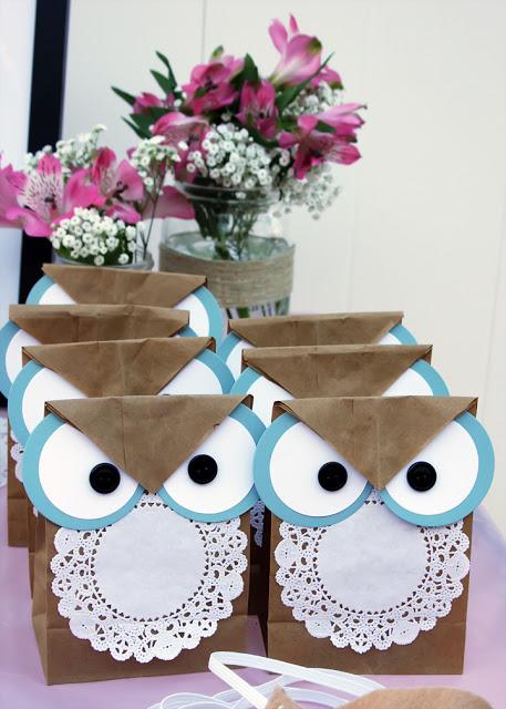 embrulhos e sacolas para presentes Como+fazer+sacolinhas+de+coruja+artesanato+facil+presente+lembrancinha
