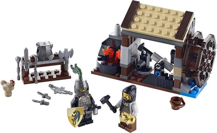 Lego Medieval House steve's lego blog: an easy medieval lego house