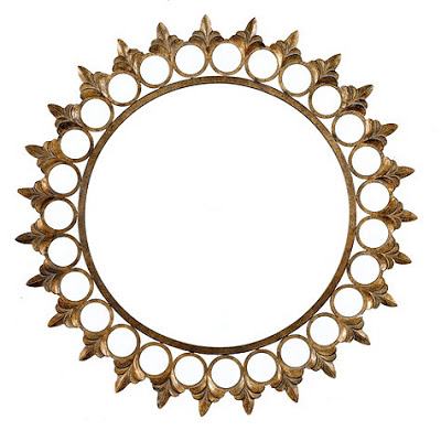 Ballard Designs Crown Sunburst Mirror