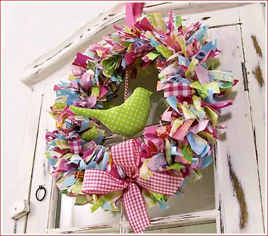 Abc amo le belle cose decorazioni primaverili fai da te for Decoration de fenetre pour le printemps
