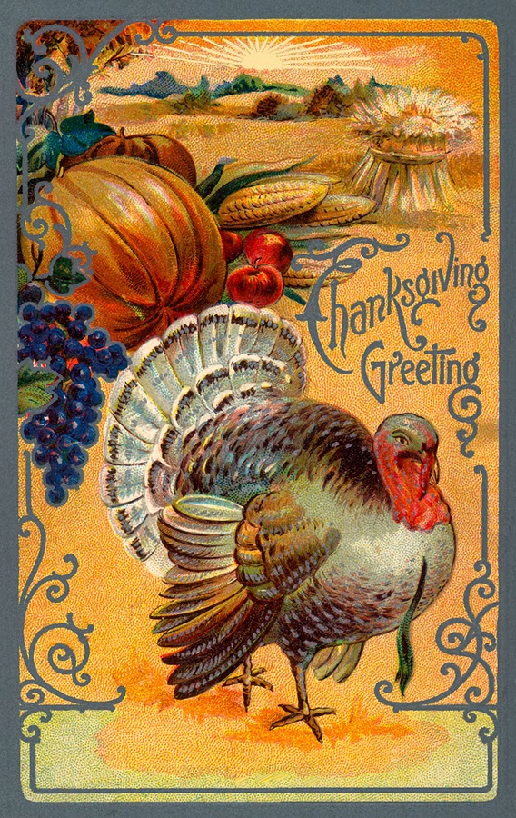 Thanksgiving Greeting poster