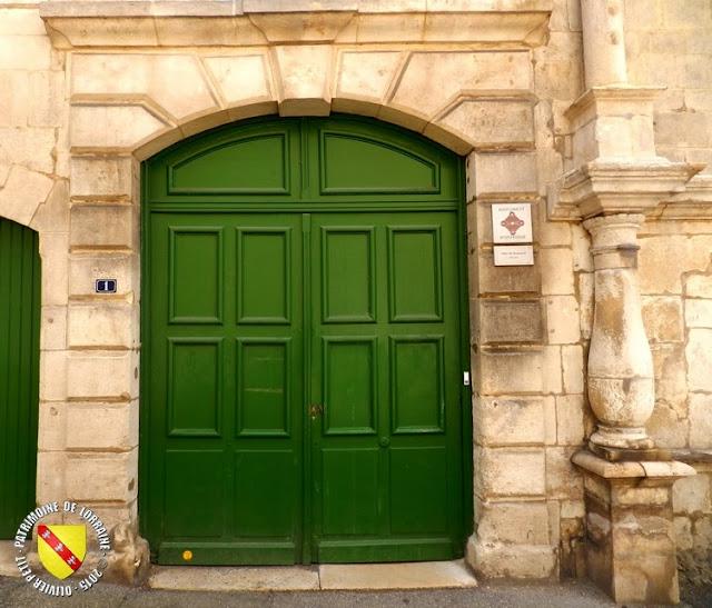 SAINT-MIHIEL (55) - Hôtel de Bousmard (XVIe siècle)