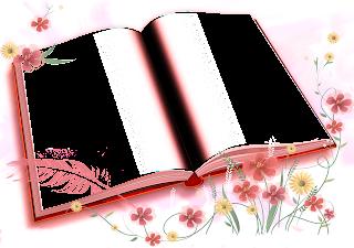 Moldura Livro   Flores Em   Em Otima Resolucao