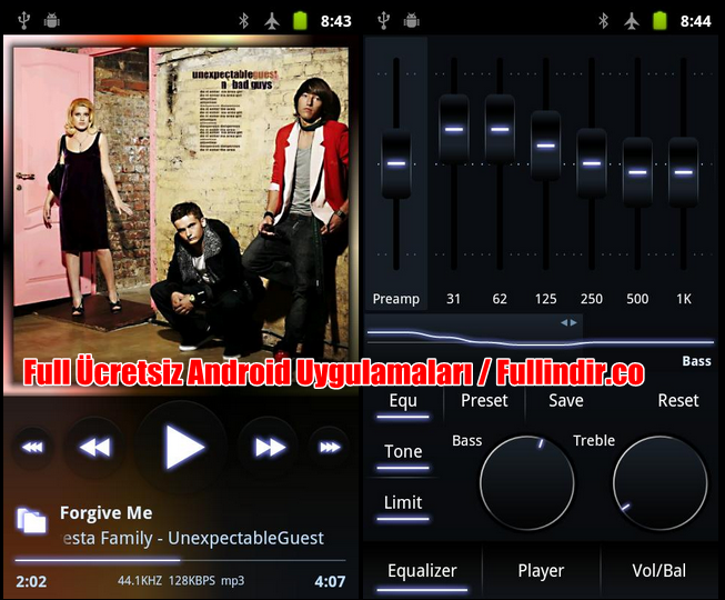 how to build android music player