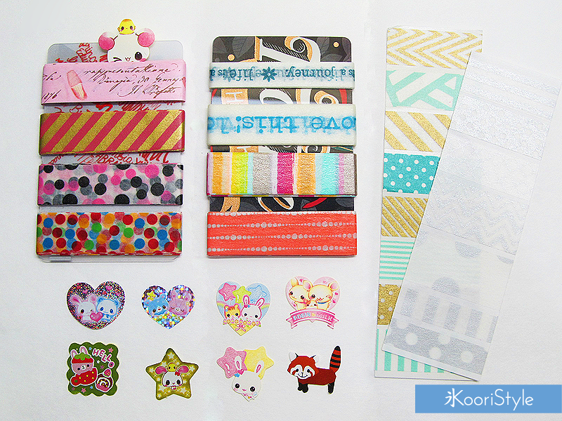 Koori KooriStyle Kawaii Cute Planner Kikki KikkiK Stationery Goods Goodies Agenda Journal Washi Deco Tape Sticky Note Notes Paper Clips Haul Page Flags Happy Snail Mail PenPal Stickers
