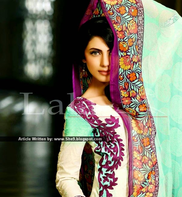 LALA Brocade Embroidered Collection 2015