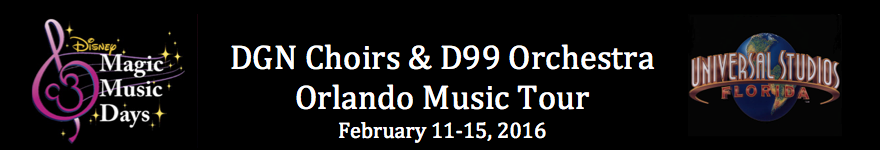 DGN Choirs & D99 Orchestra Florida Tour
