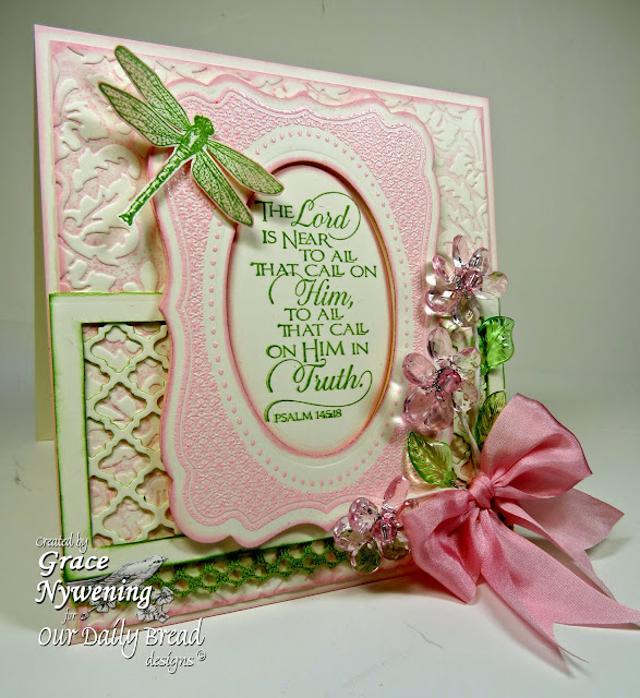 ODBD stamps, Scripture Collection 11, Fancy Frames, designed by Grace Nywening
