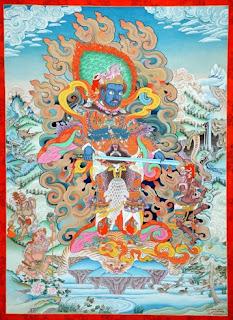 Nepalese Thangka Paintings by Monk Shashi Dhoj Tulachan