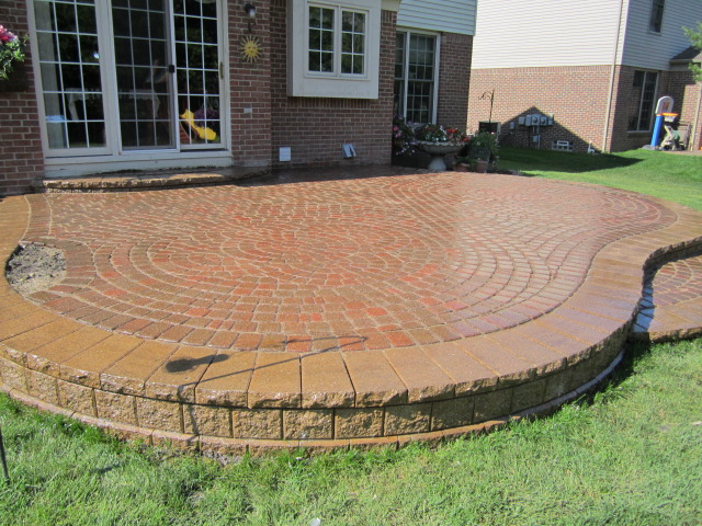 This Particular Raised Paver Patio In Canton Was Restored By My Team And I  For Just Under $2,000. We Had To Completely Relay ALL The Paving Stones  Inside ...
