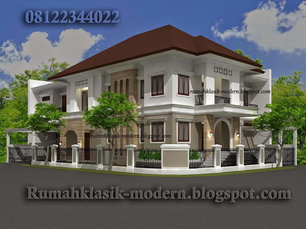 Desain Rumah Klasik Modern Cantik Mewah Berkwalitas Gambar Sederhana