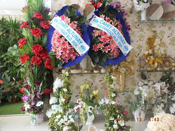 sultangazi çiçekçi çelenk modelleri