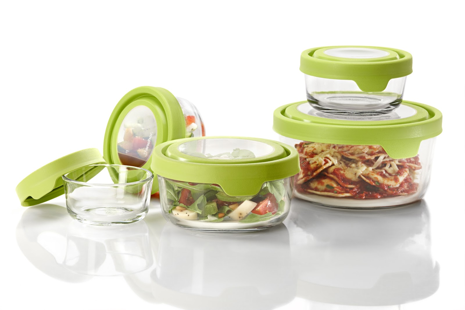 glass food containers. Black Bedroom Furniture Sets. Home Design Ideas