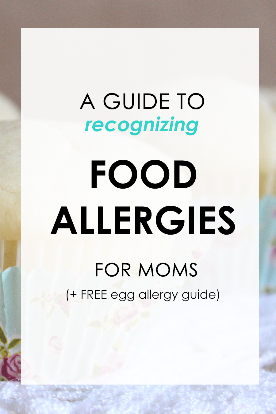 A guide to recognizing food allergies for mom (+ FREE egg allergy guide). When I found out my son is severely allergic to eggs, it quite literally changed our life around, food wise. From cooking, baking and grocery shopping, a lot of habits had to change. Here are few tips and advice for new moms introducing food for the first time to their baby.