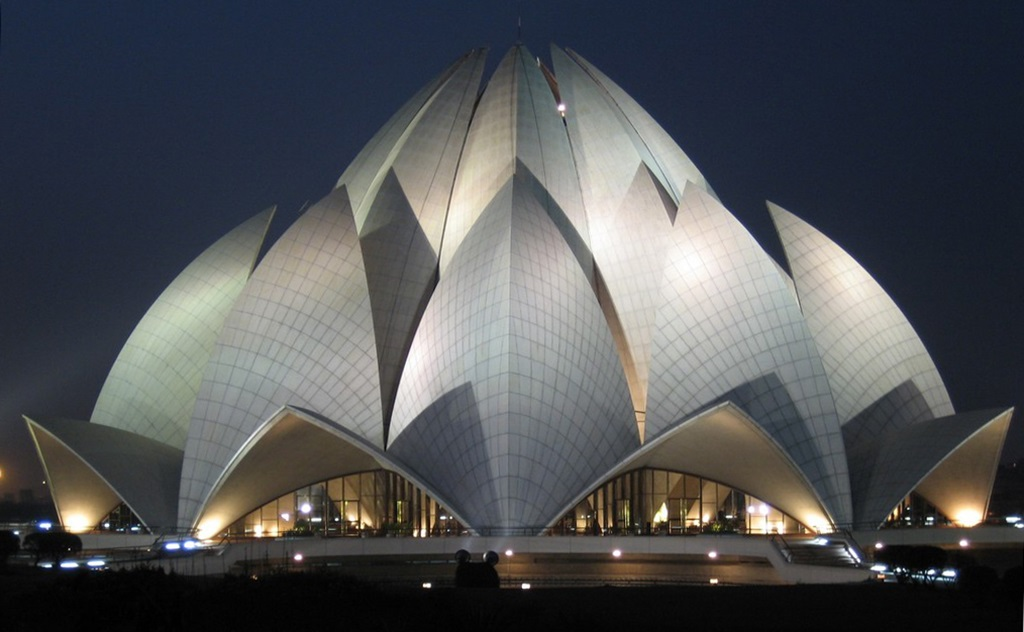 lotus temple new delhi india images