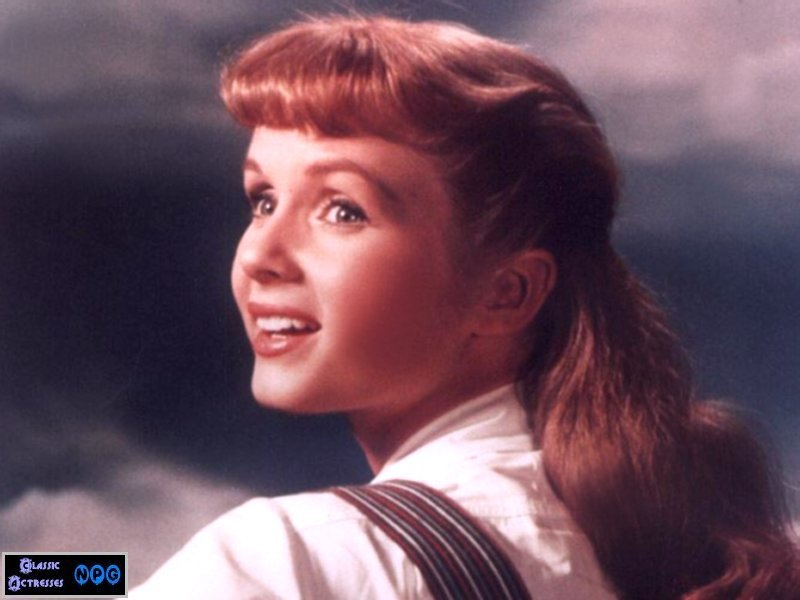 Young Debbie Reynolds Back when she was young and