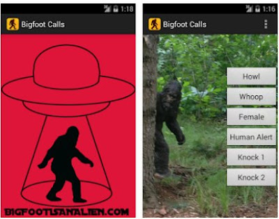 Bigfoot Calls Android App
