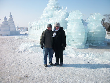 Ice Festival in Shenyang, China