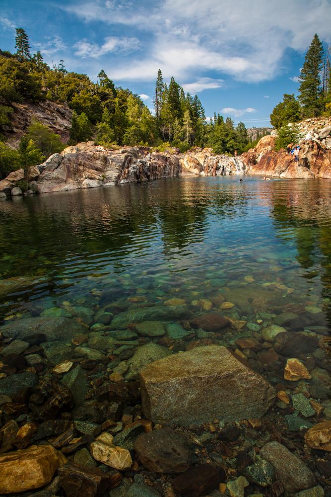 swimming holes of california emerald pools upper north fork yuba river