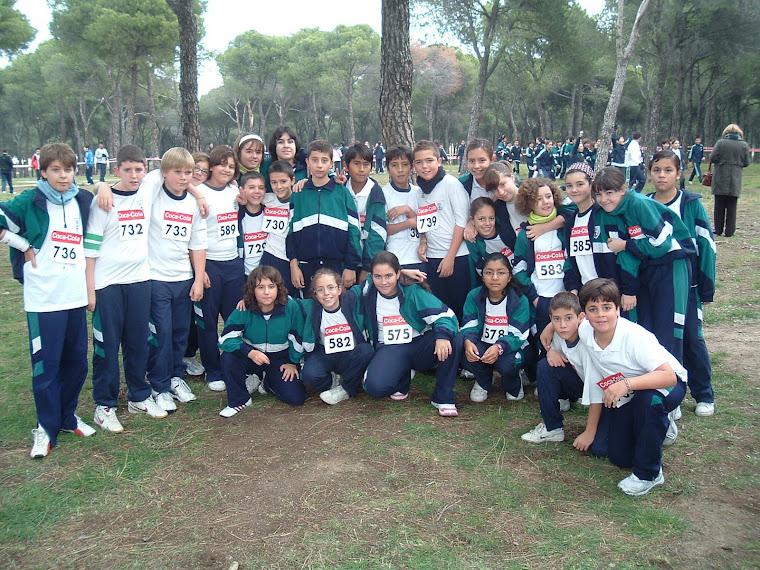 NOS PREPARAMOS PARA EL CROSS 2011