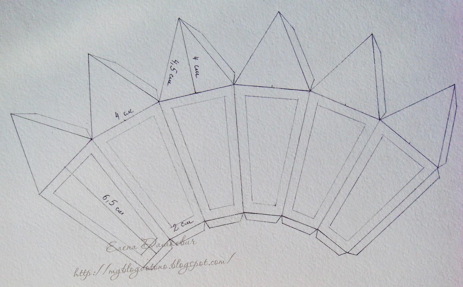 Серебряный мостик из фольги схемы