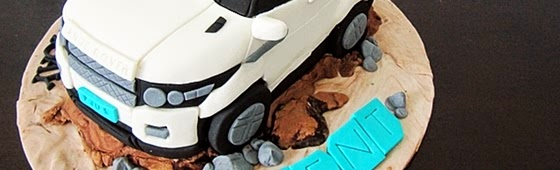 Header picture of Range Rover Sculpture Cake