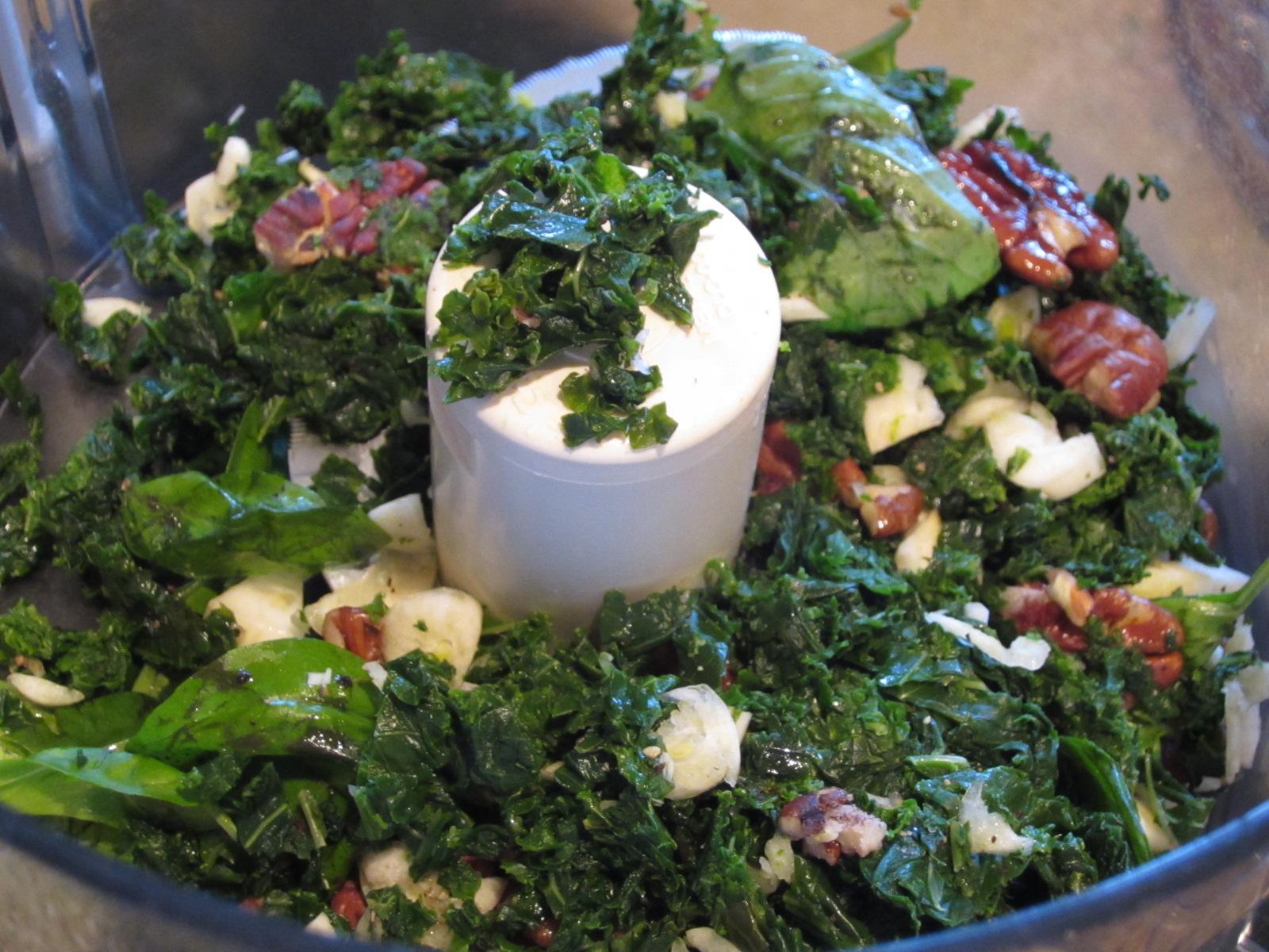Homemade Kale-Ricotta Ravioli