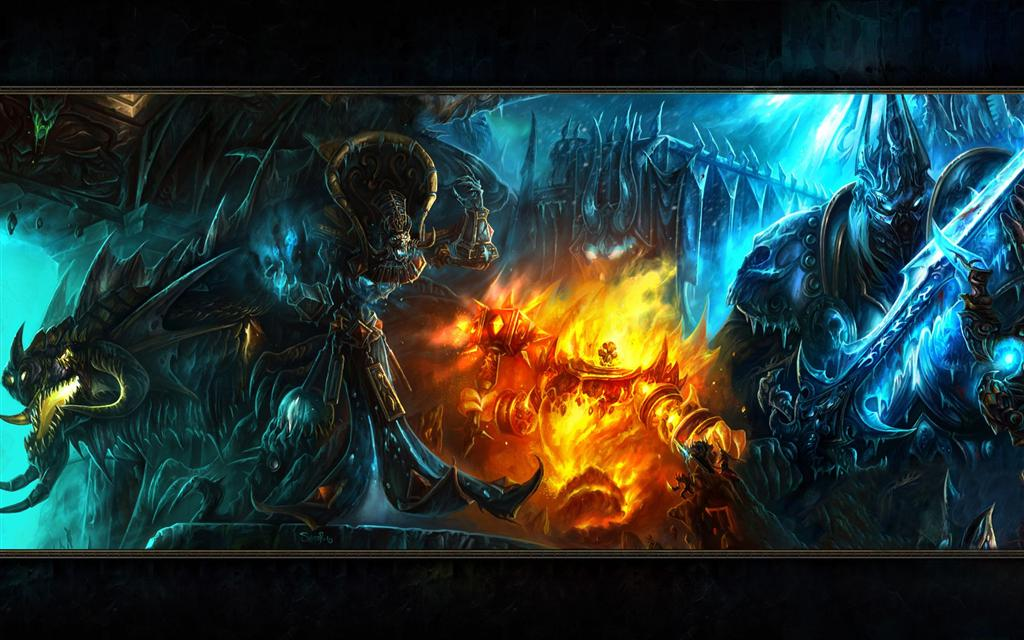 World of Warcraft HD & Widescreen Wallpaper 0.24478837917517