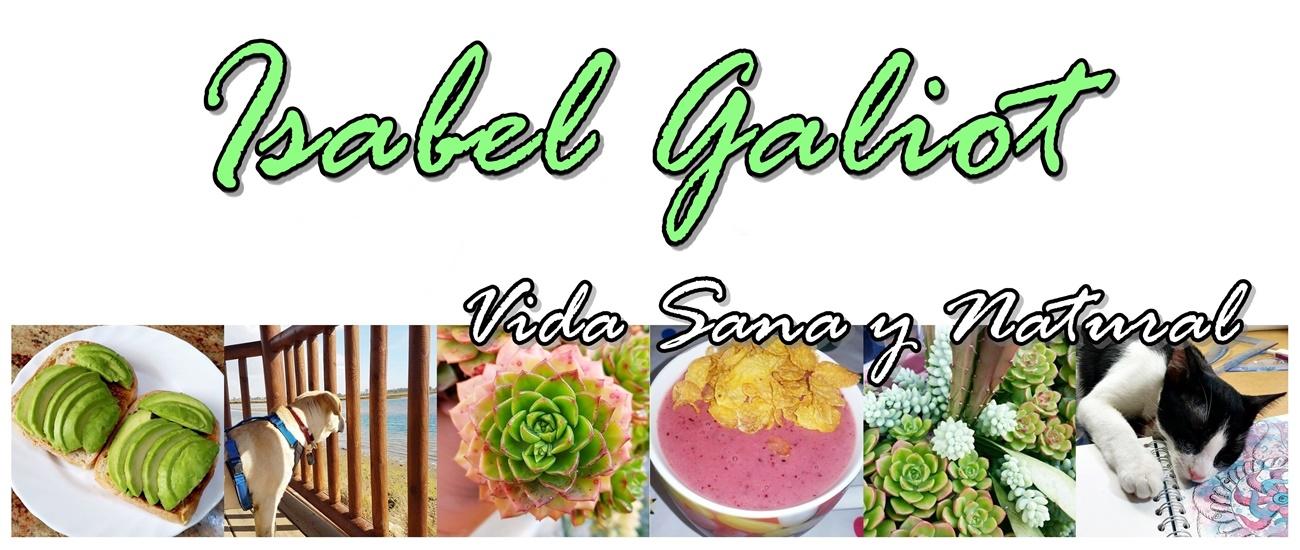 Isabel Galiot. Vida sana y natural.