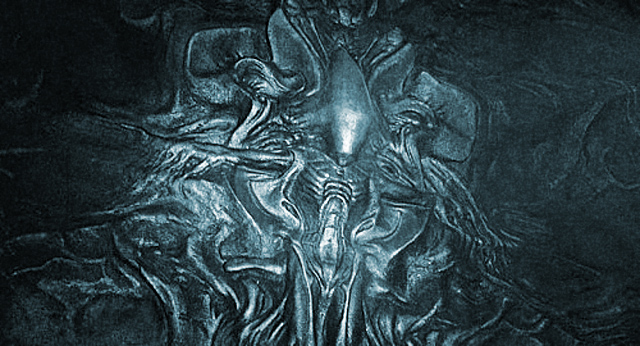 You deserve this for Prometheus xenomorph mural