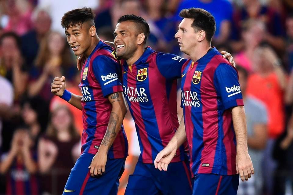 Media docena del Barcelona para el León