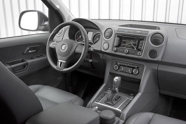 VW Amarok Automática 2013 - interior