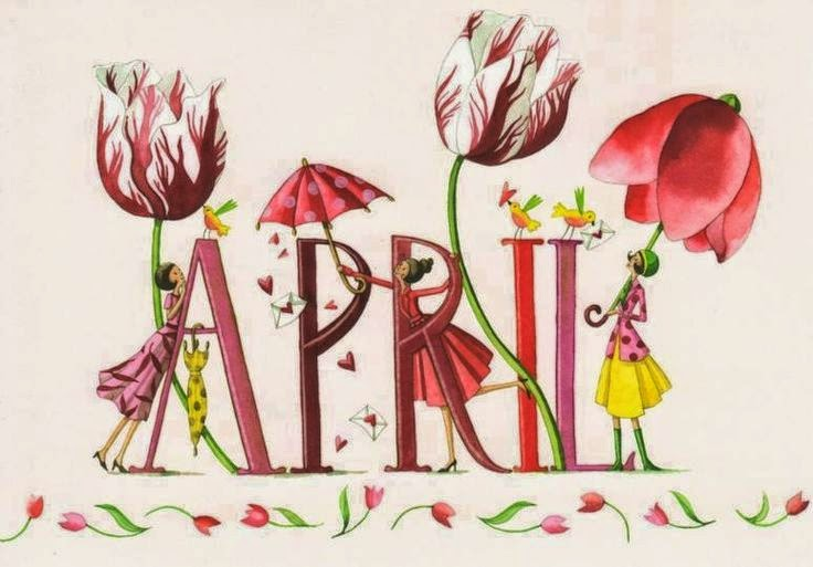 Image result for images for welcome april
