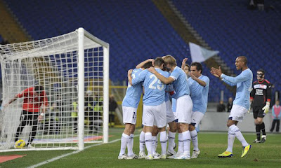 Lazio 3 - 0 Novara (1)