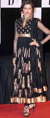 Deepika Padukone in salwaar kameez