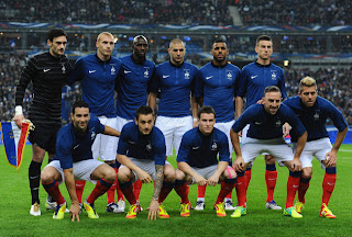 France squad for Euro 2012