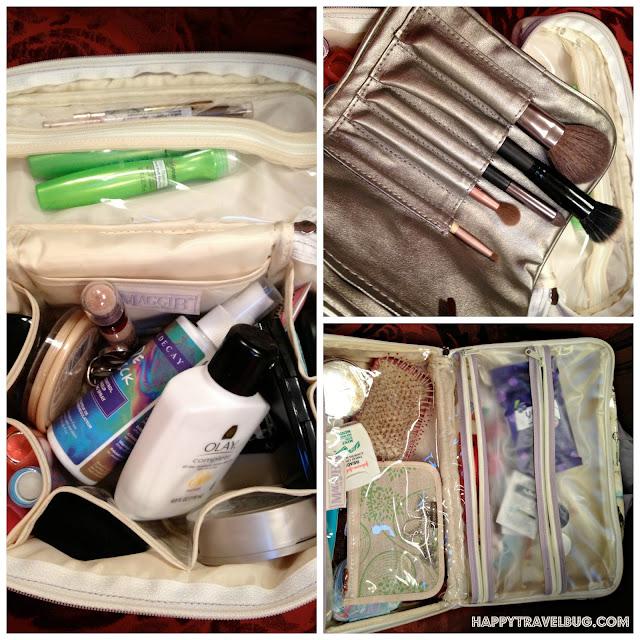 make-up bag, brush holder, toiletries bag