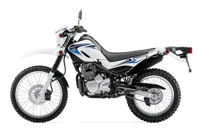 2012 Yamaha XT250 White