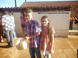 Quadrilha na Escola Ismael Silva